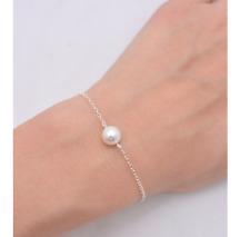 Armkette Perle Gold Silber Kette Armkettchen Style Armband Damen süß Blogger neu