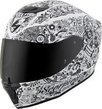 Scorpion Adult Matte White/Black EXO-R420 Shake Full Face Motorcycle Helmet