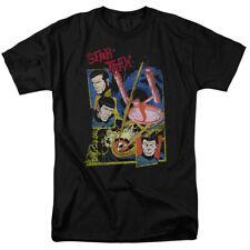 Star Trek Animated Series Enterprise in Eye of Storm Comic Style T-Shirt S-3XL