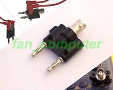 NEW BNC Female Banana Adapter Multimeter Joint Plug Connector Converter