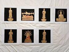 Art Silk Screen Picture Wall Home Decor Handmade Gift Buddha #19