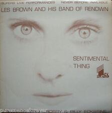 Les Brown & su banda de renombre-sentimental cosa (UK Ltd Ed 12 Tk 1979 Lp)