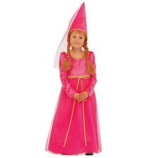 Kleines Burgfräulein Kostüm, Mittelalter Kinderkostüm Burgdame Mittelalterkostüm
