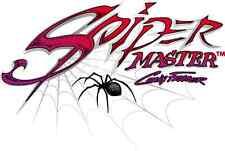 Stencil aerografo ARTOOL RAGNI Spider Master by C.Fraser SCEGLI IL TUO STENCIL