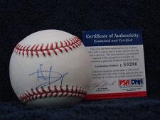Delmon Young Autograph baseball psa/dna