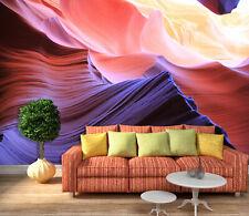 3D Rouge Désert 1 Photo Papier Peint en Autocollant Murale Plafond Chambre Art