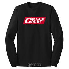 Retro Crane Cams Hot Rod Long Sleeve T-Shirt Sz S - 5XL