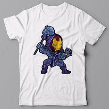 Funny cool T-shirt - IRON MAN + SKELETOR avengers, ironman