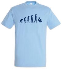 Water Polo Evolution T-Shirt Player Coach Fun Human Charles Darwin Team Game