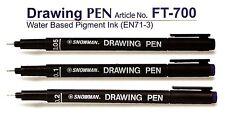 PUPAZZO di NEVE PIN disegno PENNA PENNARELLO Sottile ARTE Craft.05,0.1,0.2,0.3,0.4.0.5,0.6,0.7,0.8