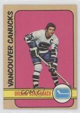 1972-73 Topps #46 Orland Kurtenbach Vancouver Canucks Hockey Card