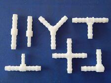 Schlauchverbinder POM 3 mm bis 25 mm verschiedene Mengen