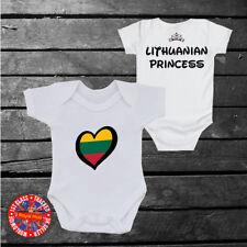 Lithuania Princess Baby grow vest, Lithuanian, Disney Inspired, Kids, Girls