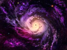 Fototapete Galaxie Spiralgalaxie Weltraum - Kleistertapete oder Selbstklebende