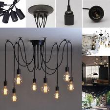 6/8/10 Heads Industrial Vintage Edison Chandelier Pendant Ceiling Light  Fixture
