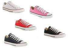 Converse Unisex Para Hombre Para Mujer Low Top de Entrenadores Zapatos-Todos Los Colores Y Tamaños!