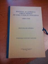 """Large art folio """"Pintura Academica Obras Primas De Uma Colecao Paulista"""" 1982"""