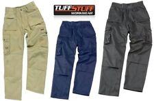 New Mens Tuff Stuff Pro Work Trouser Knee Pad Pockets Pouch Pockets 711 30-38''