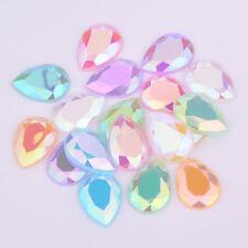 AB Cristalli Flatback GOCCIA STRASS colla per pietre cristalli 10*14 mm