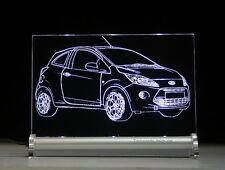 LED Leuchtschild graviert ist Ford Ka  RU8 AutoGravur ab Baujahr 2008