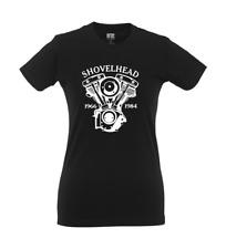 Shovelhead Motorrad I Fun I Lustig I Sprüche I Girlie Shirt