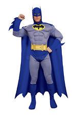 Deluxe con parte delantera Batman Cosplay Vestido elegante traje de Disfraz para Hombre Macho S A L