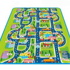 Children Play Mat Baby Playing Crawling Rug Carpet Blanket Kids Toy Traffic City