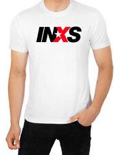 INXS Men's High Quality Top T Shirt Cotton, Crew Neck, Gildan,