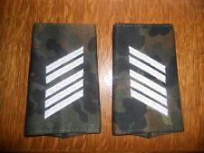 Esercito Tedesco Spalla sportelli rango cinghie esercito superiore bacchetta soldato tarnfleck neu02