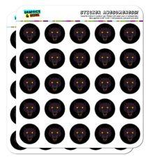 Black Panther Leopard Jaguar Face Triba Planner Calendar Scrapbooking Stickers