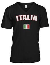Italy Italia Repubblica Italiana Republic Rome Flag Pride Mens V-neck T-shirt