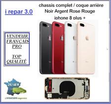 Châssis pré-assemblé/Coque arrière pré montée iPhone 8+/Plus Argent/Noir/Rose/or