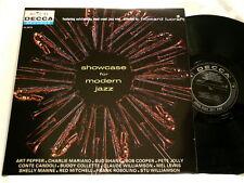 SHOWCASE FOR MODERN JAZZ Art Pepper Frank Rosolino IMPORT LP Charlie Mariano