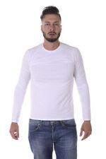 T-shirt Maglietta Armani Jeans AJ Sweatshirt % Uomo Bianco 8N6T816J0AZ-1100