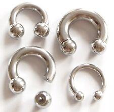 Hufeisen Piercing Ring Circular Barbell Prinz Albert Ohr STUDIO Implantatstahl