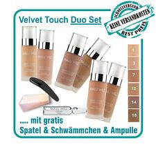 """Malu Wilz """"Teint"""" Duo Set - Velvet Touch Foundation in 6 verschiedenen Farben"""