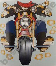 Kinder T-Shirt #611 Biker Motocross Motorrad, Children Kids