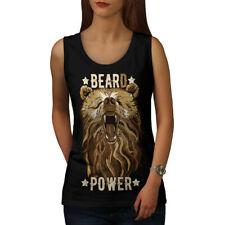 Hipster Beast Bear Animal Women Tank Top NEW | Wellcoda