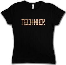 TECH NOIR LOS ANGELES CLUB GIRLIE SHIRT - Terminator Technoir Cyber Movie Shirt