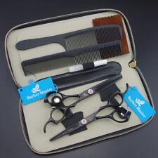 "5.5""&6.0"" Professional Hair dressing Scissors Cutting+Thinning Shears set k605"