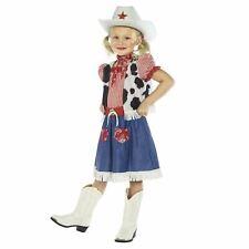 Vaquera Encanto Disfraz infantil Infantil Vaquero Disfraz Lejano Oeste NUEVO