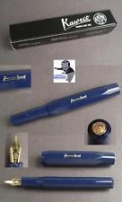 Kaweco Classic Sport Füllfederhalter in navy blau  EF, F. M. B oder BB Feder #