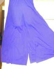 NWT Praise Dance Liturgical bell sleeve wrap top Copen Blue Ladies sizes 85070