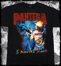 New: PANTERA - 5 Minutes Alone (Black) Metal Concert T-Shirt