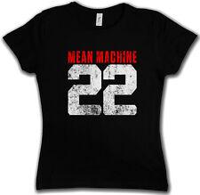 MEAN MACHINE 22 GIRLIE T SHIRT The Longest Movie Yard Kampfmaschine USA Football