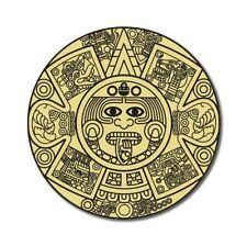 Aztec Calendar Car Vinyl Sticker - SELECT SIZE