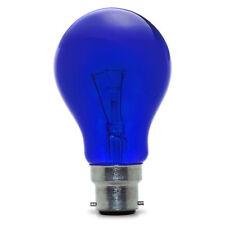25w Coloured GLS Light Bulbs BC (B22) ES (E27) Red Blue Yellow Orange Green PACK