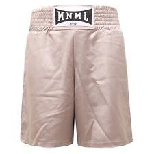 2230S bermuda unisex MINIMAL HAUTE COUTURE raso beige pant short men woman