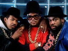 Run–D.M.C. Group Run DMC Retro Band Rapper Hip-Hop Rap Giant Wall Print POSTER