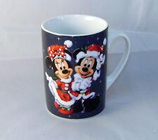 Disney Mickey & Minnie Mouse as Santa and Mrs Claus Ceramic Cofffe Mug